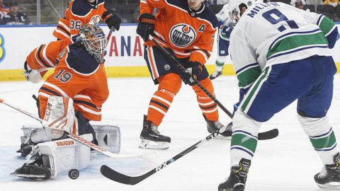 Horvat paces Canucks to 6-1 pre-season win over Oilers