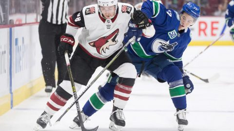 Canucks wrap up pre-season with 4-2 loss to Coyotes