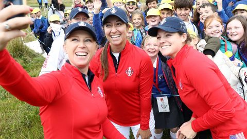 McDonald steps into Lewis' spot, ready to step up for U.S. Solheim Cup team