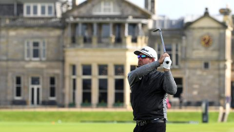 Walters (63) catches fire at Old Course to lead Dunhill Links
