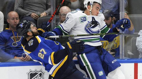 Canucks beat Stanley Cup champs 4-3 in a shootout