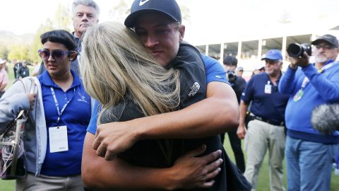 Champ jumps 100 spots to career high in Official World Golf Ranking