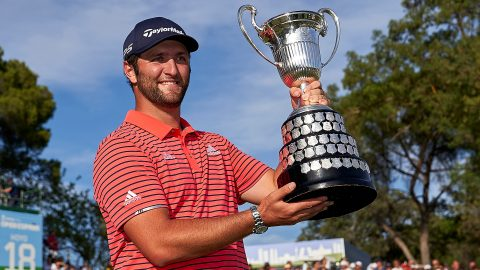 Rahm (66) defends title at Spanish Open; beats Seve's Euro Tour record