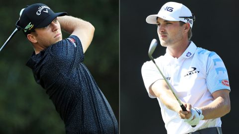 Gooch, Cook fire 64s to share first-round lead at Houston Open