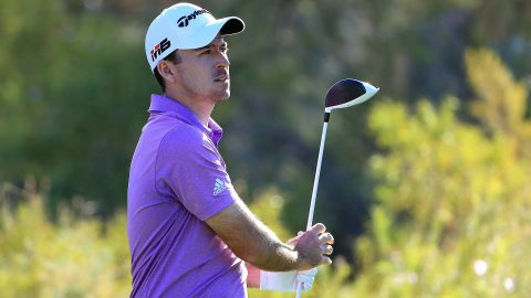 Taylor fires 63, leads in Vegas with Mickelson two back