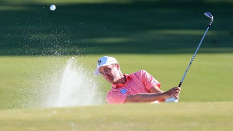Todd holes walk-off bunker shot to likely make Houston Open cut