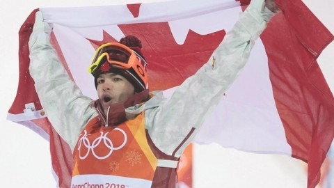 Freestyle skier Mikael Kingsbury wins top male athlete of the year honours