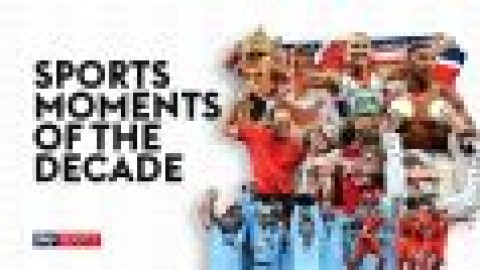 Greatest sports moments of the decade