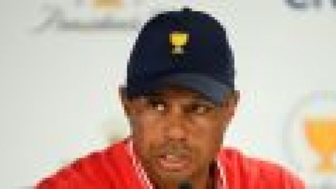 Tiger: Presidents Cup not over