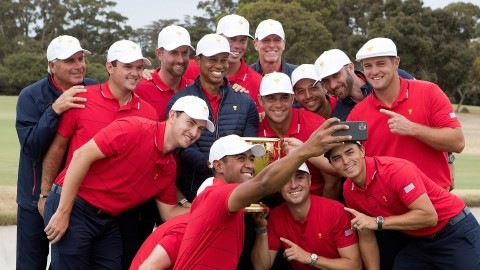 U.S. team members reflect on victorious week at Royal Melbourne