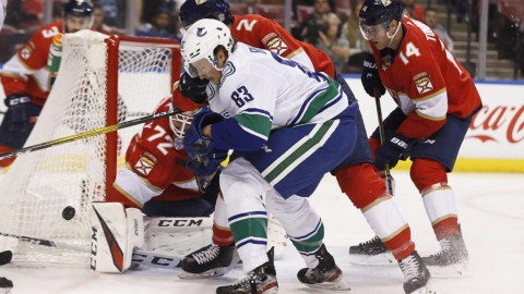Canucks stumble again in Florida, fall 5-2 to Panthers