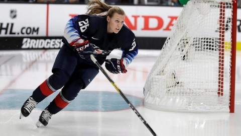 Women take centre stage at NHL all-star skills competition