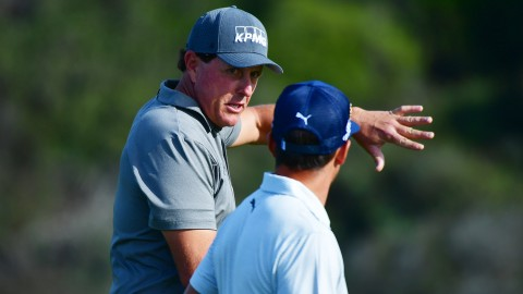 Mickelson misses second straight cut; Fowler, Rose also headed home