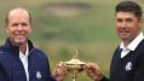 Rankings not a factor in a Ryder Cup