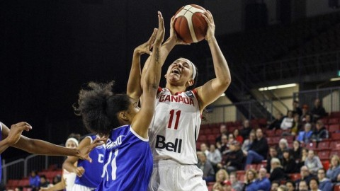Canadian women's basketball team punches its Olympic ticket with win over Sweden
