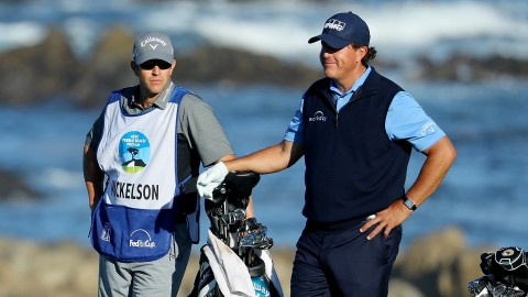 Why Phil Mickelson won't have his brother on the bag at Riviera
