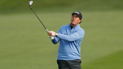 Watch: Phil puts on short-game clinic Saturday at Pebble Beach