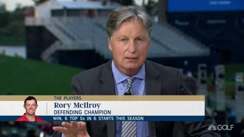Brandel Chamblee commends Rory McIlroy as he skewers PGL for its 'sewer' money