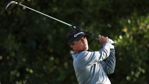 Monday qualifier David Morland IV holds early lead at Hoag Classic