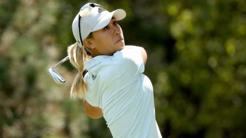 Going for third straight win, Danielle Kang 'uncomfortable' with links courses