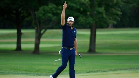 Dustin Johnson runner-up at BMW, but still No. 1 entering FedExCup finale