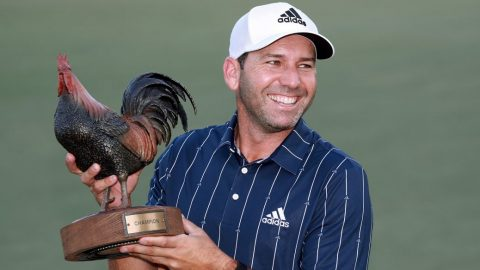 Sergio Garcia birdies final hole to win first Tour event since 2017 Masters