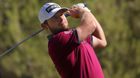 Tired and 'grumpy', Tyrrell Hatton fires opening 65 at CJ Cup