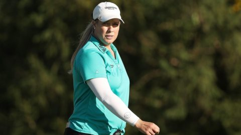 Brittany Lincicome switches to aggressive mode, looks to win major as a mom