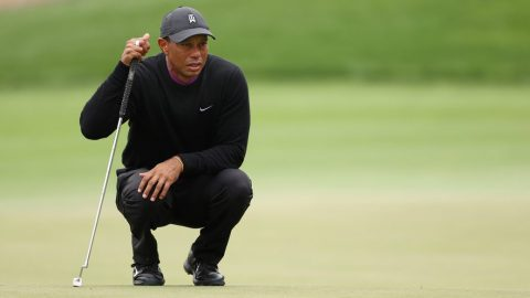 Even after 66, Tiger Woods still not ruling out adding Houston Open