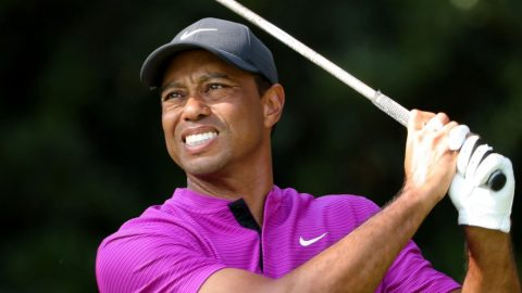 'Sore' Tiger slips out of contention