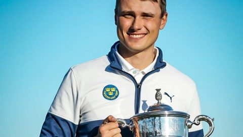 Ludvig Aberg needed a closing birdie to win the Jones Cup and he delivered