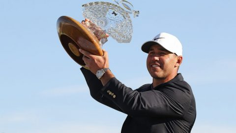 Brooks Koepka makes two eagles, rallies to win Waste Management Phoenix Open