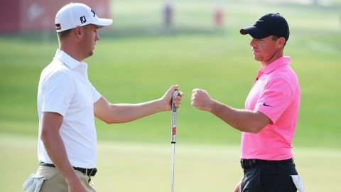 Watch: Can Justin Thomas and Rory McIlroy make an ace with 50 balls each?