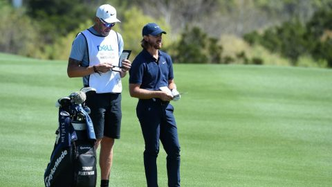 'He's not got the lightest touch': Tommy Fleetwood's caddie breaks sign