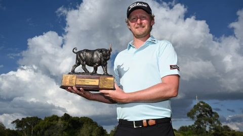 Flawless final round gives Justin Harding the title at Magical Kenya Open