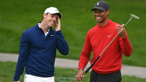 Tiger Woods' trophy case shows Rory McIlroy why majors are what matter