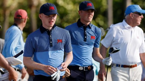 Down just a single point entering Sunday singles, GB&I hope to earn title of Walker Cup spoilers