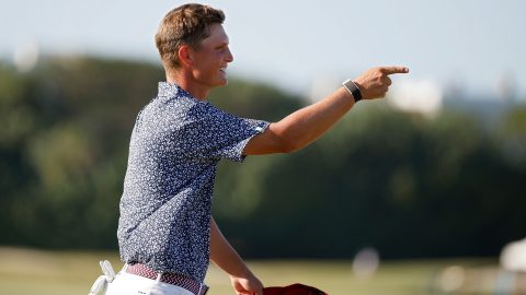 William Mouw steps up in Tyler Strafaci's absence as U.S. takes 7-5 lead at Walker Cup