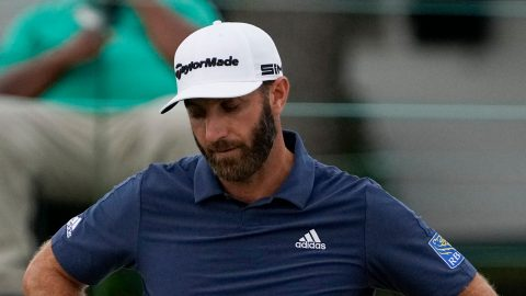 Dustin Johnson out of Byron Nelson with knee issue
