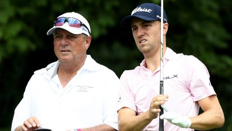 Will distance-measuring devices speed up play? Justin Thomas says no