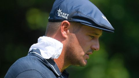 DeChambeau misses out on historic round
