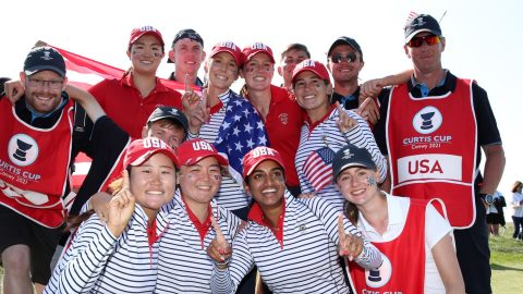 USA cruise to Curtis Cup victory