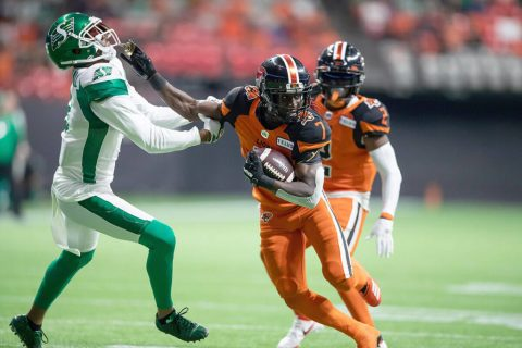 Last-minute Fajardo TD gives Roughriders wild 31-24 victory over B.C. Lions