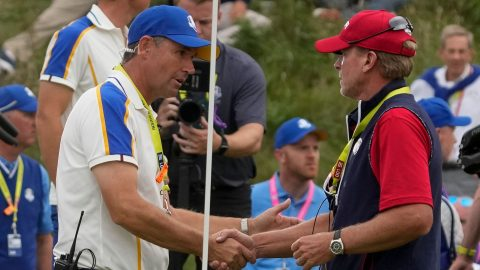 McGinley's three-point Ryder Cup plan for Europe